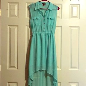 Forever 21 casual mint green dress